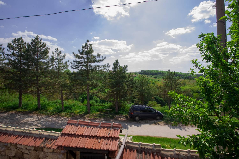 Гледка от терасата на семеен хотел Валдес